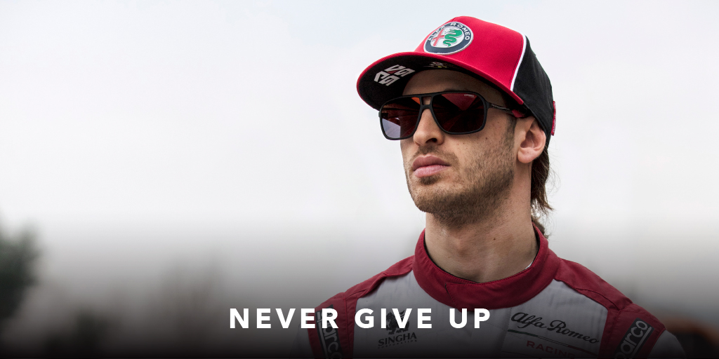 Born ready with CARRERA 8035/SE. Discover more at https://t.co/7IlOH4dN1G. #carrera #driveyourstory #alfaromeoracing #orlen #austriangp #antoniogiovinazzi https://t.co/LPZLCnjgRK