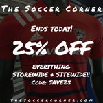 Image for the Tweet beginning: Our 25% off everything sale