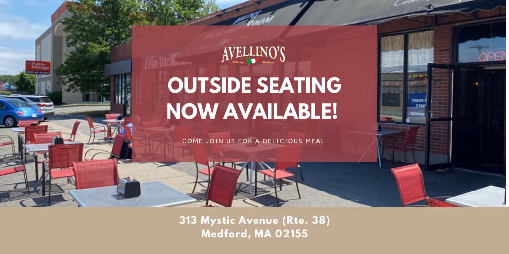 Now you can enjoy a meal in our outside dining area! Stop by today to grab a bite.  #Italian #ItalianRestaurantpic.twitter.com/n67QXiM89j