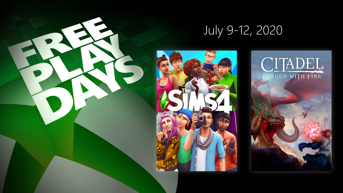 Xbox Free Play Days. Think of it as a little gift for all your hard work. Come on, don't be shy. Open it.    Take a peek: https://t.co/efKOlLeIC7 https://t.co/WlOzDF8rkd