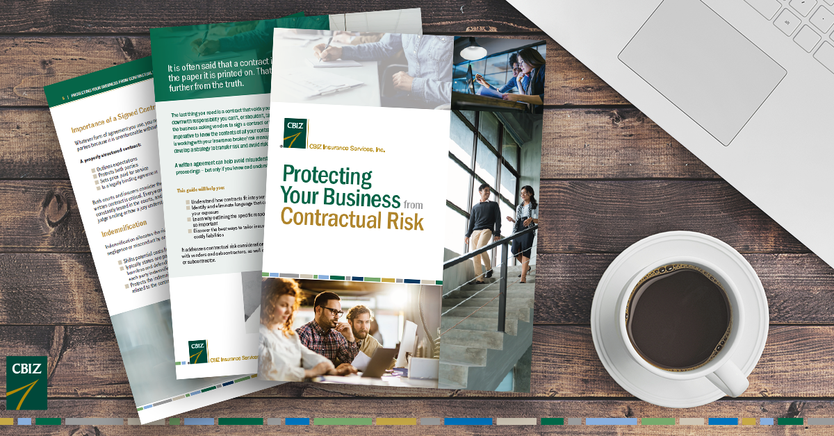 Are your business contracts putting your organization at risk? Download your copy of this free guide to learn more about how you can minimize your risk exposure. https://t.co/kToWgFsmfC https://t.co/qGAknfQszU