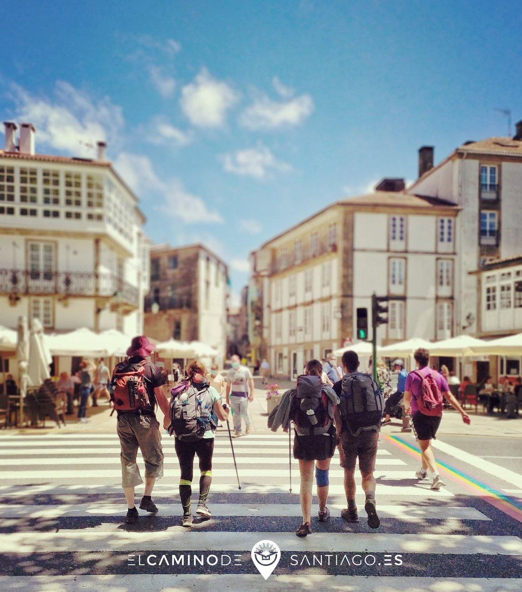 Preeeeeegunta: dónde estamos hoy❓en qué #camino❓   #ganasdecamino #caminodesantiago #buencamino #peregrino #blogdelcamino #Galicia #destinoseguro #buscandolaGalicidad #theway #elcaminodesantiago #caminar #sentir #vivir #ilcamminodisantiago