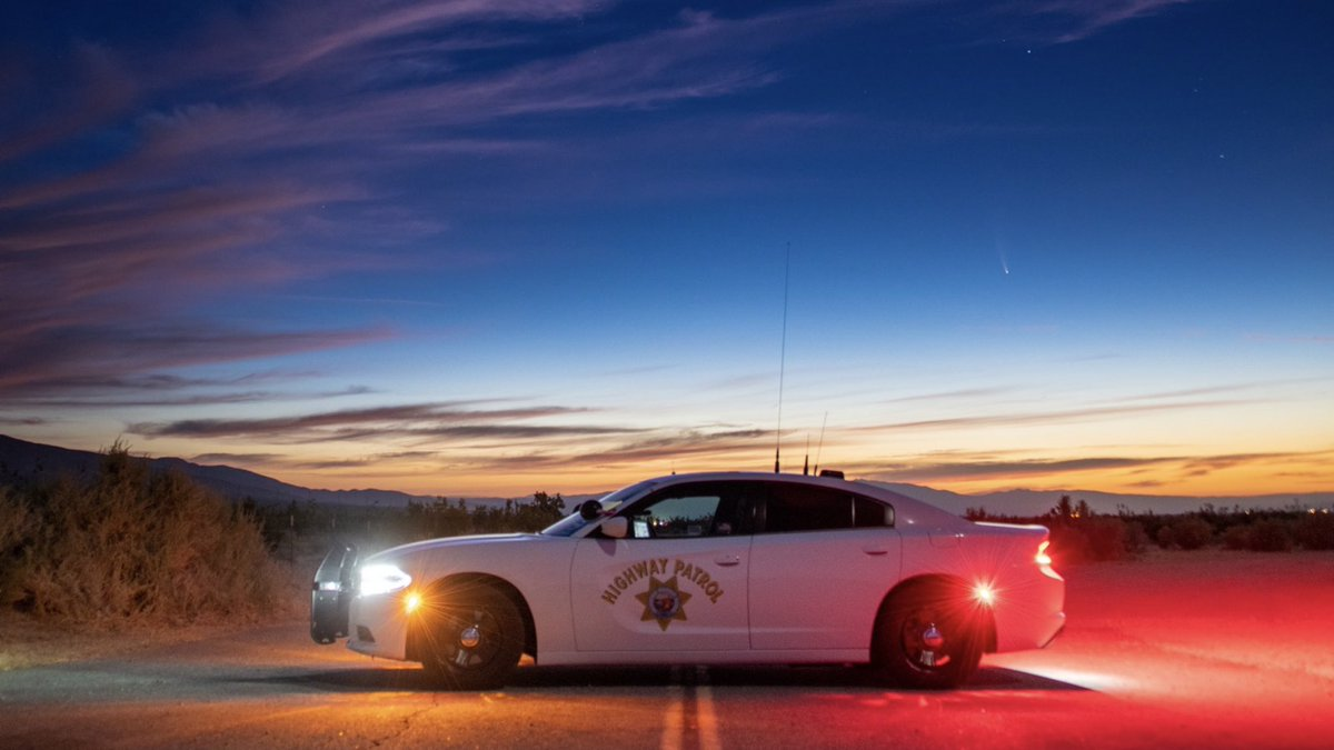 Good Morning to all the SNS family members... Had to steal this great shot from the @chpmojave #SmokeNScan #CHP #GoodMorning #Sunrise https://t.co/vtupG9wqg6