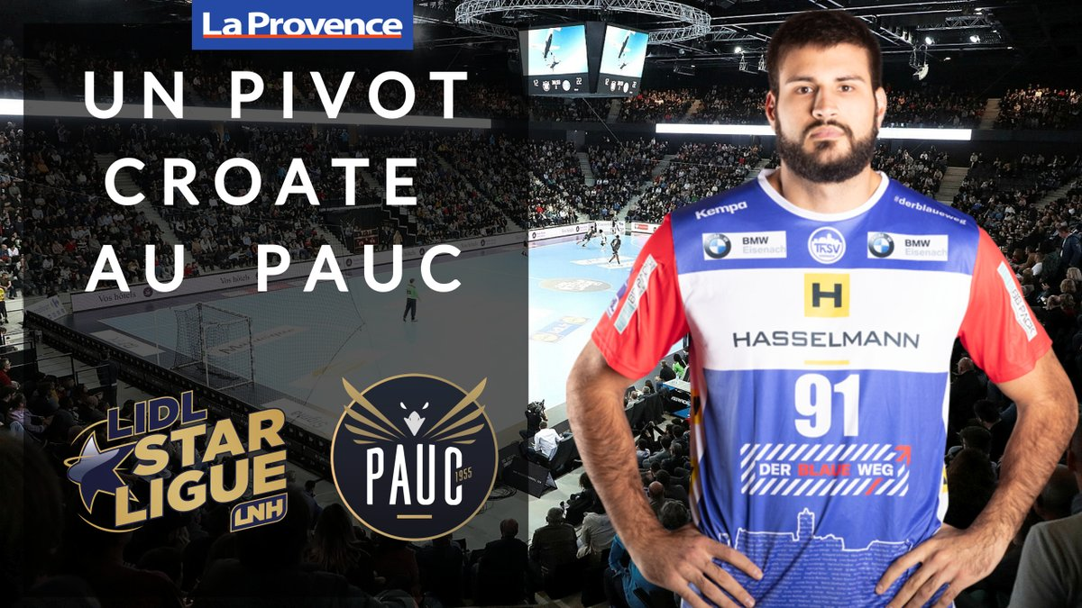 MARKO RACIC arrives to @pauchandball Excited to have another Zeppelin Team young player and great prospect in @LidlStarligue 💪💪 https://t.co/L7MMVEWoWr