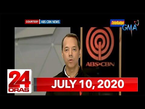VIDEO: 24 Oras Express: July 10, 2020 [HD] https://t.co/lF5LZ7FK0D https://t.co/kdylKrHgLb