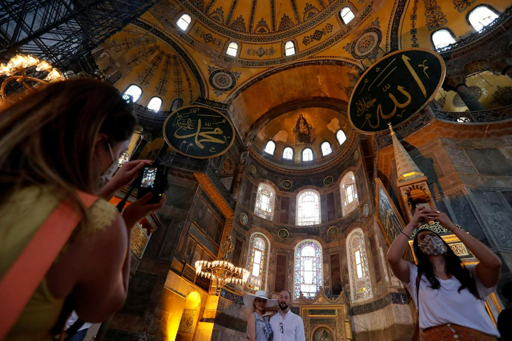 Reaction to Turkish ruling and Erdogan statement on Hagia Sophia
