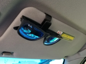 This is a classic Sunglasses Visor Clip, an S-shaped that allows you to clip your sunglasses to your car's sun visor.  N300.  #CYBERLOGIK #PRODUCTS #3DPRINTEDpic.twitter.com/n5lgoNLnwJ