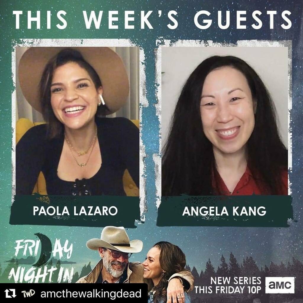 Tonight at 10pm, tune in! 🧟‍♀️ #twd  #Repost @amcthewalkingdead ・・・ Already wishing it was 10. All new #FridayNightInWithTheMorgans tonight at 10pm. https://t.co/dKU1TKKtQ2 https://t.co/LZDWBehgNr