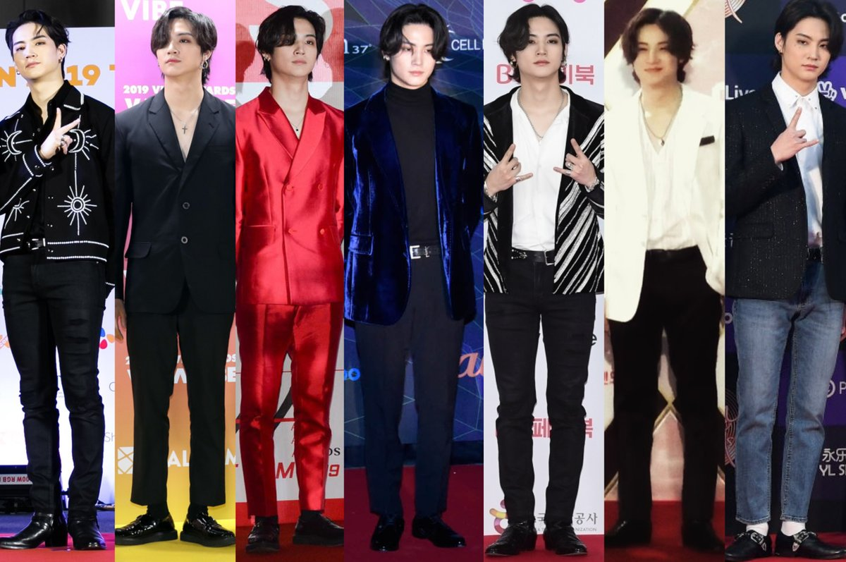 Jaebeom's red carpet recap for 2019 festivals / awards season.  He had a good run. His hair was truly his best accessory <br>http://pic.twitter.com/49MCLoPWAU