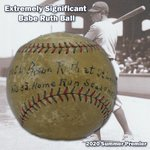 Image for the Tweet beginning: Significantly important 7/12/1921 Babe Ruth