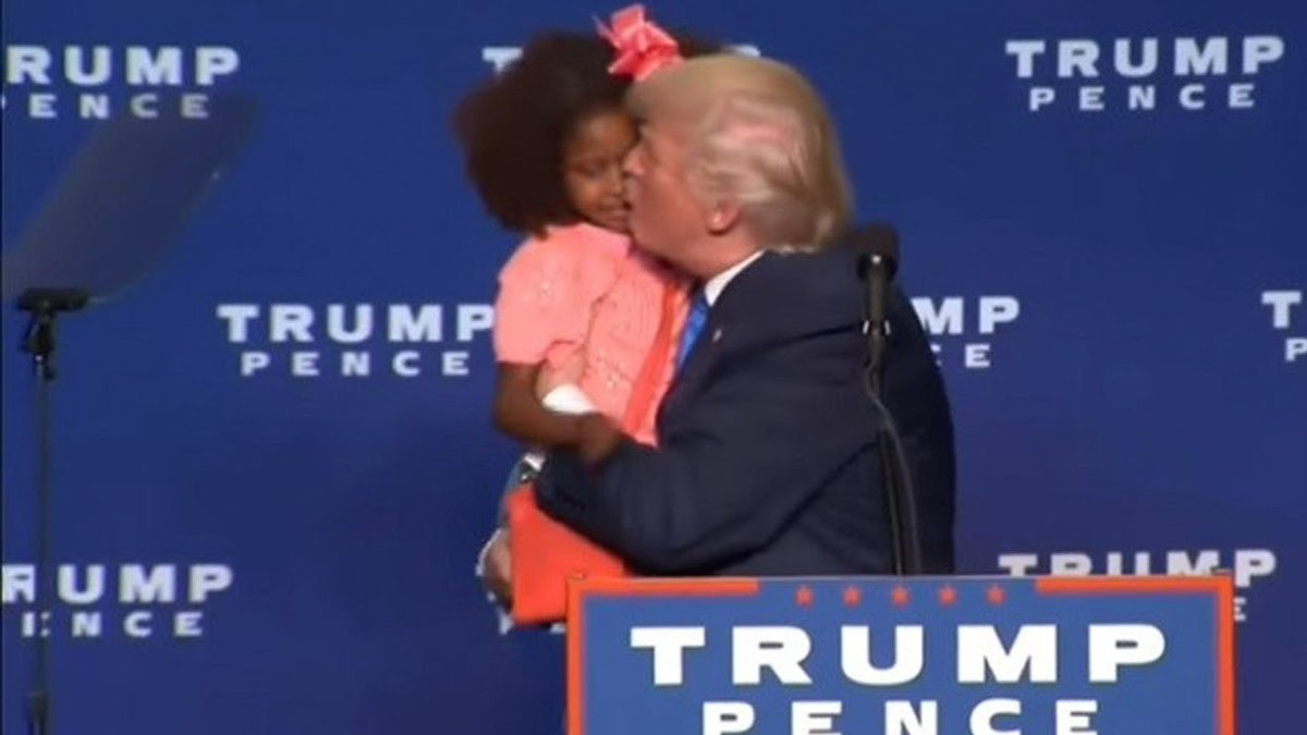 @DrGJackBrown trump doesn't *get* children and how they're not, you know, adults. He doesn't even wait. And when you're a celebrity, they let him do it.
