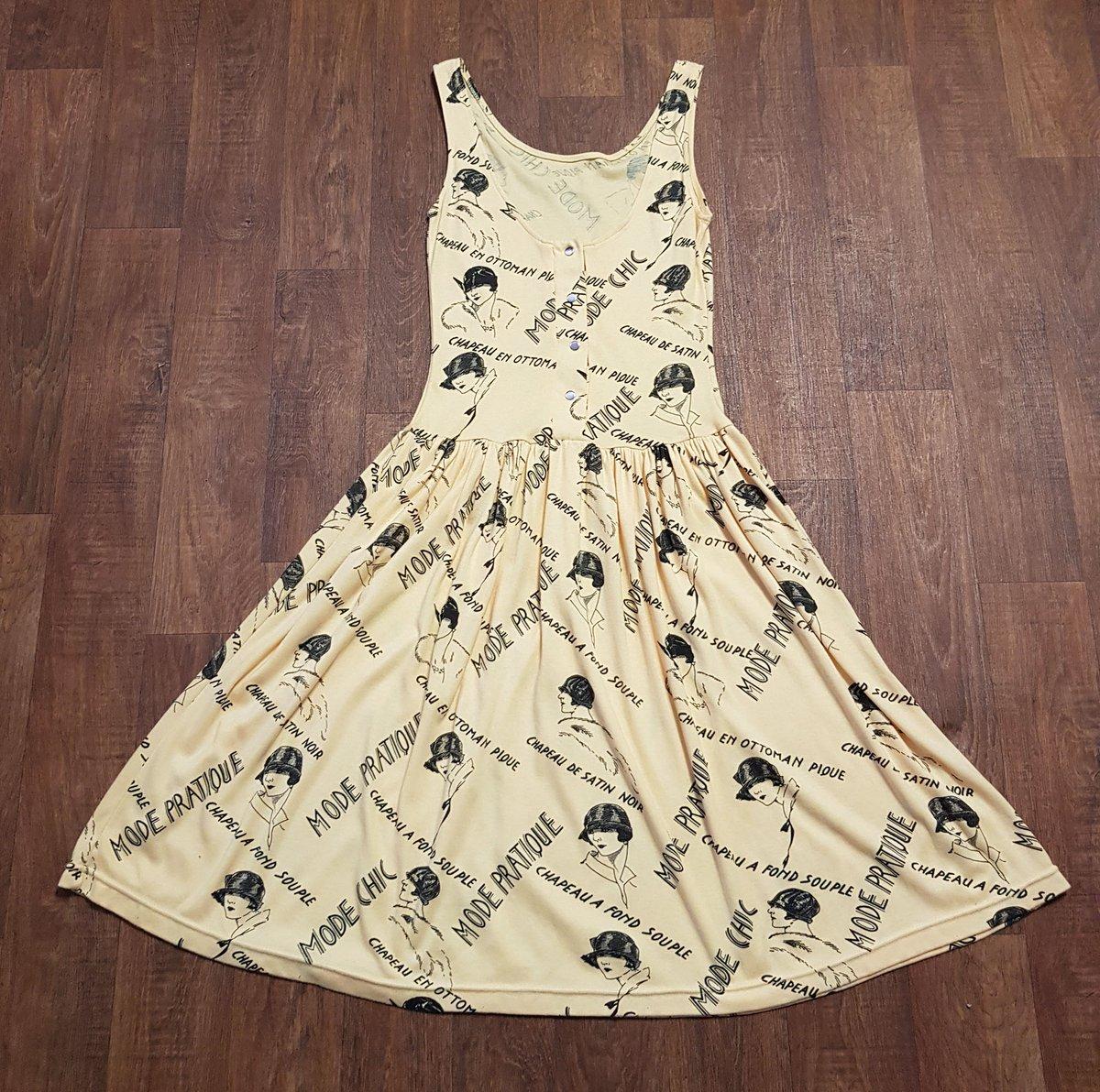 1980s Vintage Yellow French Print Summer Dress UK Size 10  https://www.myvintage.uk/product-page/1980s-vintage-yellow-french-print-summer-dress-uk-size-10… #vintage #vintagedress #vintagedresses #dress #vintageclothing #vintagestyle #vintagefashion #vintageshop #retro #uniquevintage #MyVintagepic.twitter.com/glkCUcI4xw