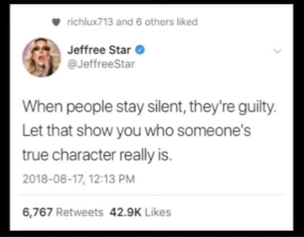 ..well this didn't age well ☠️😂   #ShaneXJeffreeStar #whereareyou