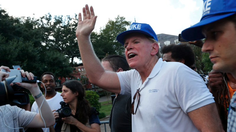 "Twitter defends giving David Duke a platform: He's ""not currently a member of the"