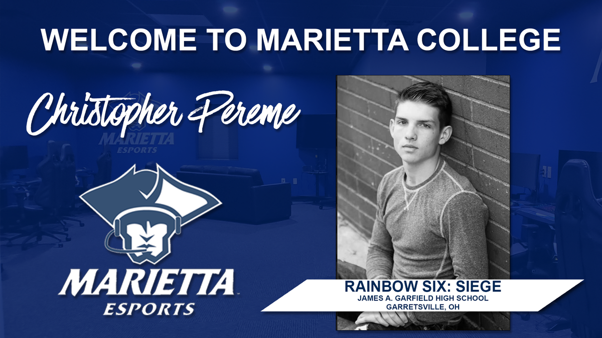 Our next esports recruit is Christopher Perme, who will be playing on our Rainbow Six team. He will also be playing @Marietta_FB for the Pioneers. Please join us in welcoming Christopher. #PioNation #BringForthAPionner https://t.co/EPeu78lrz3