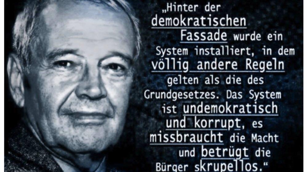 #Failstate #Deutschland #Bundesregierung #Merkel #EU  Interessant was der Verfassungsrechtler Hans Hermann von Arnim zur aktuellen Lage erklärt: https://t.co/crFxWAsHld