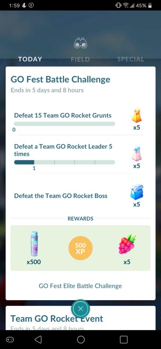 working on my #GofestElite #battle #challenge #PokemonGO https://t.co/dZrZ5LRsOW