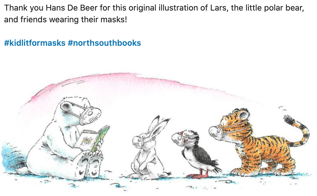 test Twitter Media - Nothing should get in the way of storytime, eh?! Thanks @NorthSouthBooks and Hans De Beer for this Friday smile. https://t.co/rMi9sr4zsm