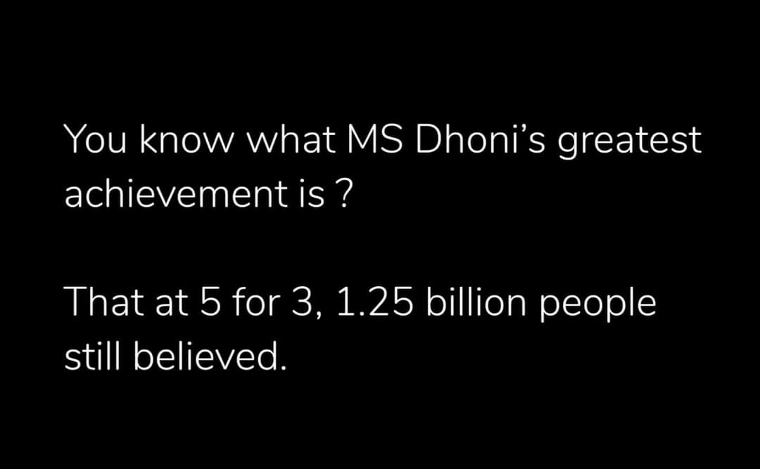 Only for true fans  #thisdaythatyear #CWC19 #MSDhoni #legendsofthegame<br>http://pic.twitter.com/0SANV4uvIS