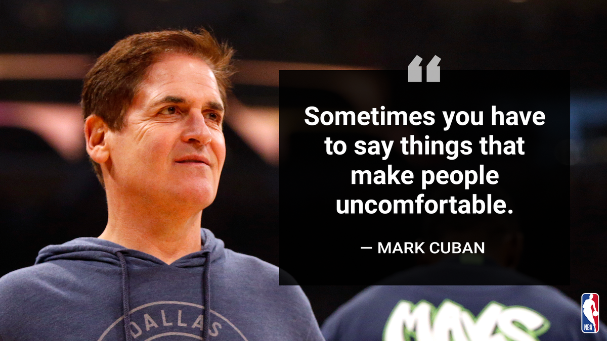 Mark Cuban (@mcuban) on white privilege and the need for white people to get engaged in the struggle for racial equality. #NBAVoices https://t.co/CUkFK5zHWx