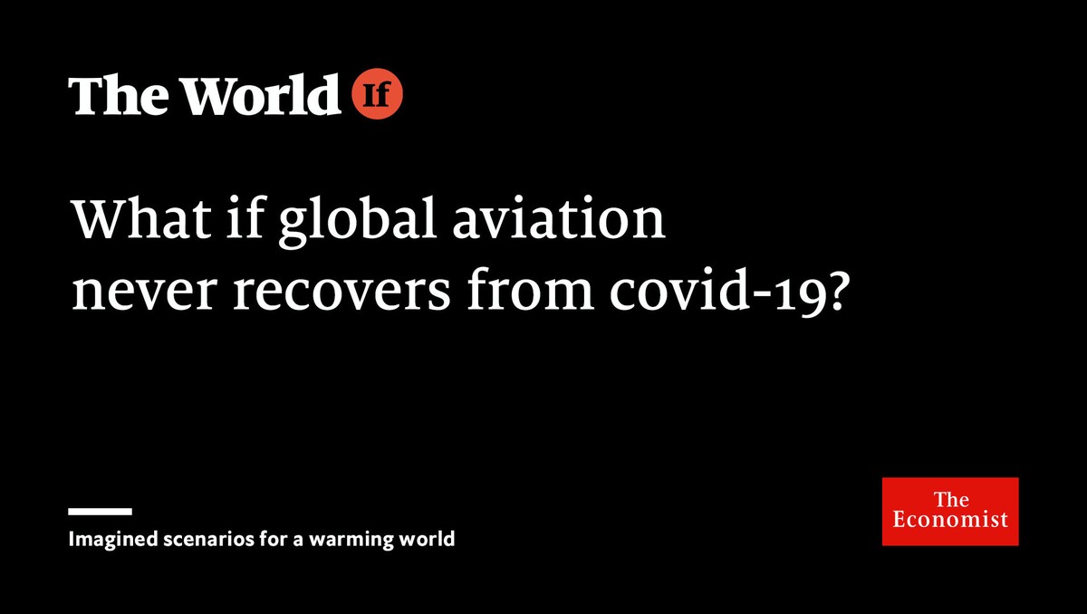 In this imagined future, business trips and cheap flights never make a full recovery