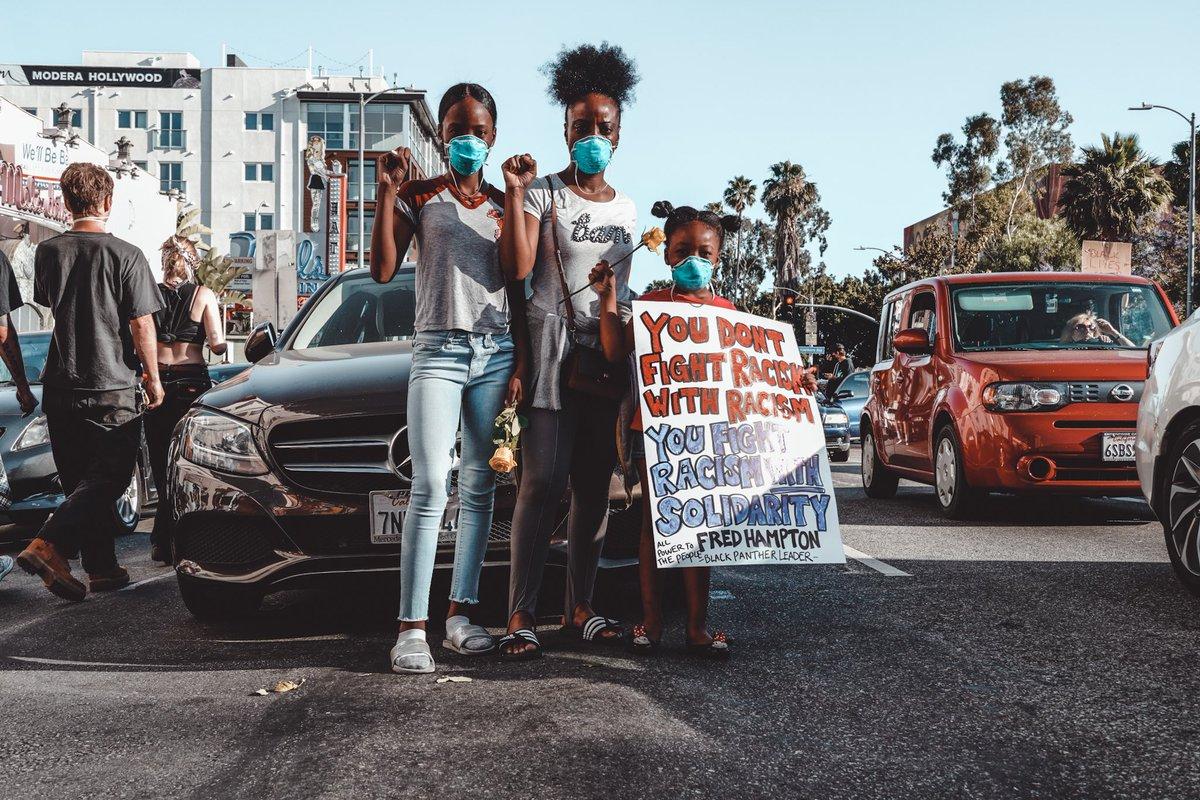 LA Protests 2020 ✊🏿  #ShotByWadz #BlackLivesMatter #LAProtest https://t.co/g9YOY4hF3g