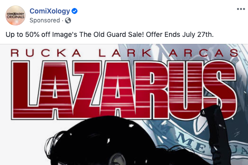 Ooh, a sale on The Old Guard. What should I buy? I guess... not The Old Guard?