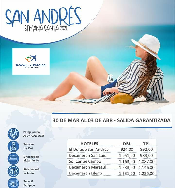 SEMANA SANTA 2021 EN SAN ANDRES!!!! 5 NOCHES TODO INCLUIDO RESERVAS: 0986-142680 #sanandres #sanandrés #sanandresislas #sanandresisla #sanandrescolombia #travelblogger #traveler #sanandresisland #fun #beach #ocean #travel #travelgram #travelblogger #travelling #playa #mar #praia https://t.co/6KvPplJMFP