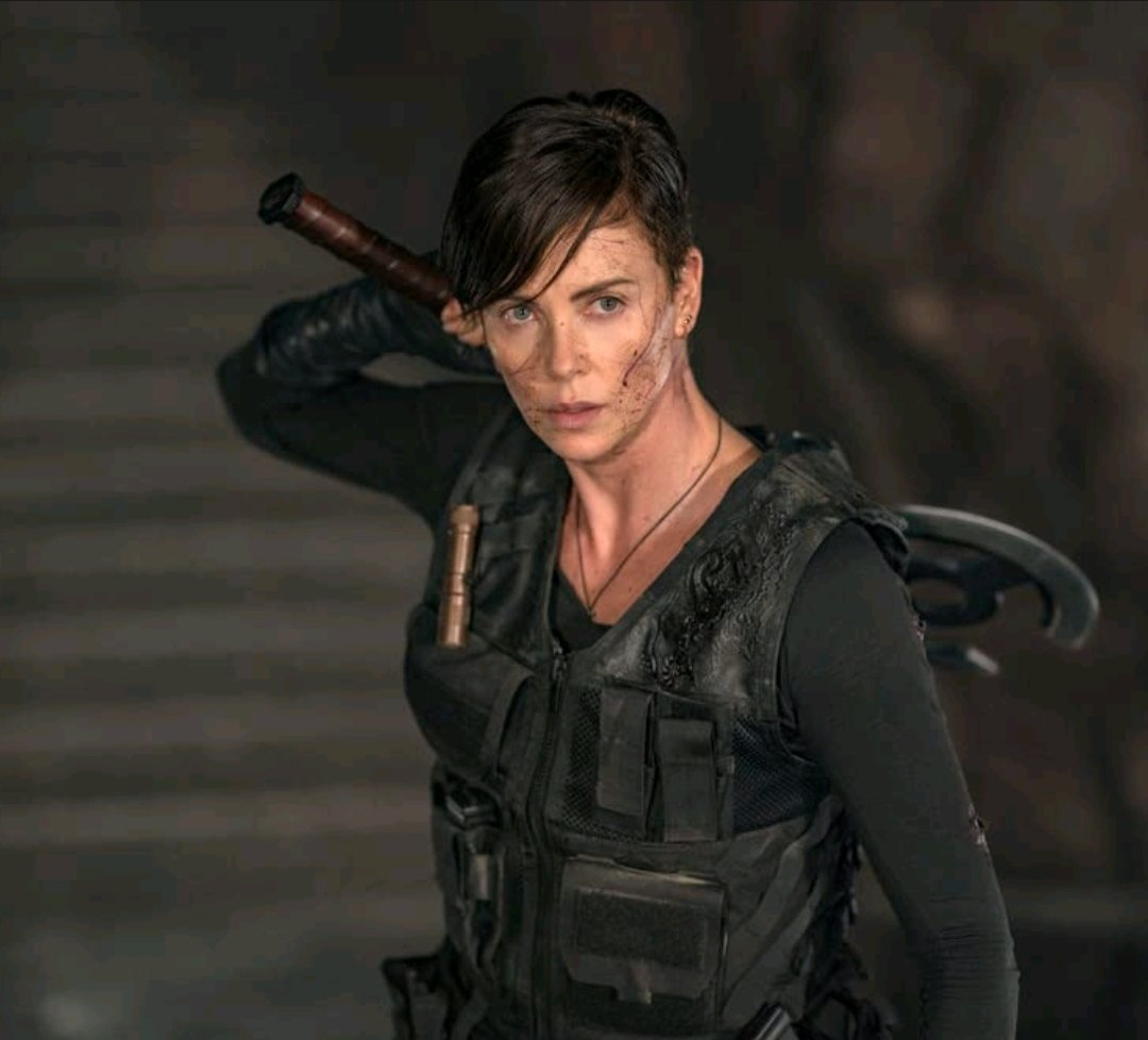 Replying to @JesseDyck002: This woman is the definition of Legendary Badass. @CharlizeAfrica  #TheOldGuard #badasswomen