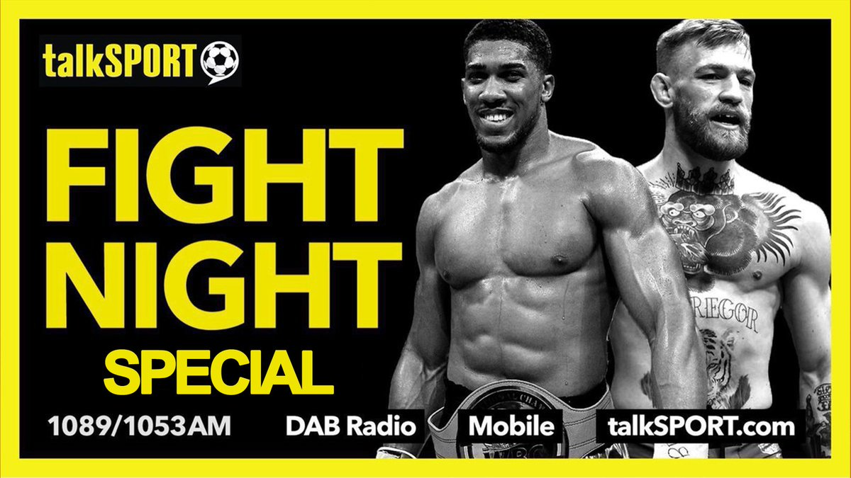 NOW: Fight Night Special 👊 @AdamCatterall & @GarethADaviesDT bring you the return of boxing in the UK! Tonight: 🥊 #FosterBeech reaction 🥊 @RealCFrampton 🥊 @FrankWarren_tv 🥊 @EddieHearn 🥊 @BobArum 🤝 @TRBoxing x @MeltPR 📻 Tune in → talkSPORT.com/Live