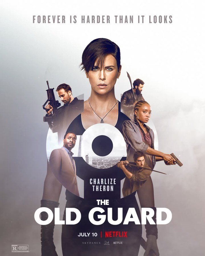 #TheOldGuard THIS SHIT IS IMO THE-PURE-BEST MOVIE FROM NETFLIX  I CANT EVEN DESCRIBE HOW GOOD IT IS DAMMMNNNN GO WATCH IT NOWWWW PLZZZ IM BEGGING