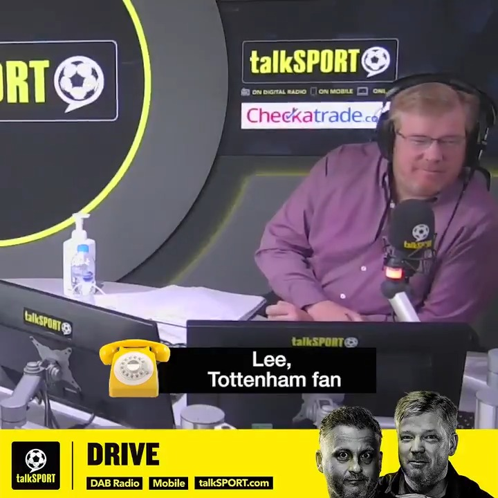 You give this man a season, we WILL get relegated. ⬇️ #THFC are not up for a fight. 👊 Look how were playing! Come on boys... Lee the Tottenham fan tells @talkSPORTDrive, if Jose Mourinho is in charge next season, #Spurs will get relegated!