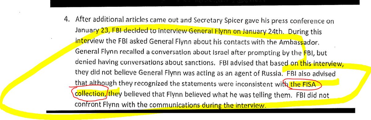 Newly released Flynn documents support my prior speculation, that *FISA was on Kislyak/Russians*, a tech cut was extracted of Flynn's calls (Flynn's name never masked). McCabe likely gave misleading summary to Pence based on the cuts https://t.co/owbjrgy1x9 https://t.co/u7qWSNiFFk