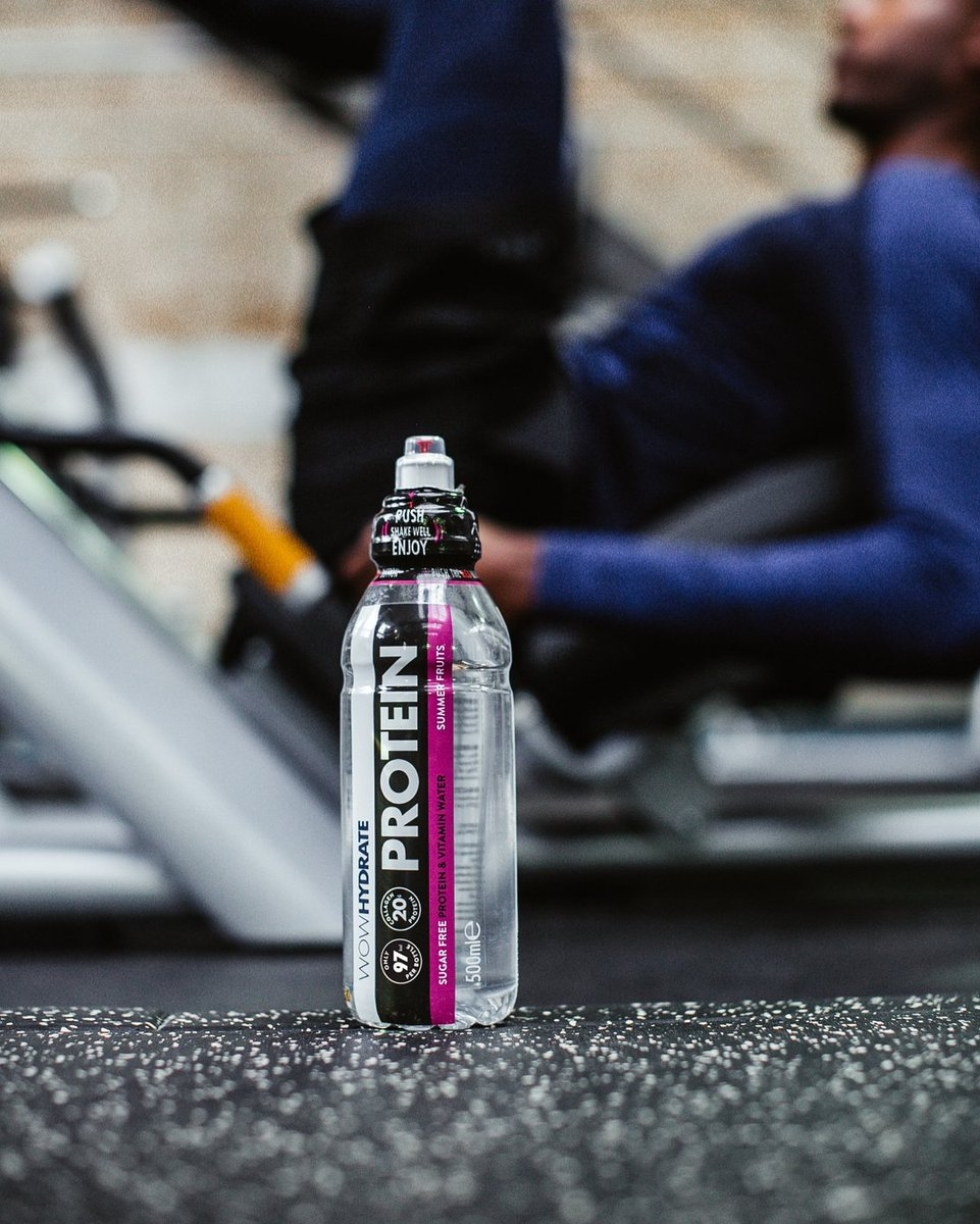 Whose ready for the gyms to be back? 🙌 Be ready to #PushIt and up your gym game with our sugar free Protein or Electrolyte waters to keep you hydrated and help you recover 💪💧  Want to stock WOW HYDRATE at your gym? Email orders@wowhydrate.com https://t.co/SlPXU0E6Er
