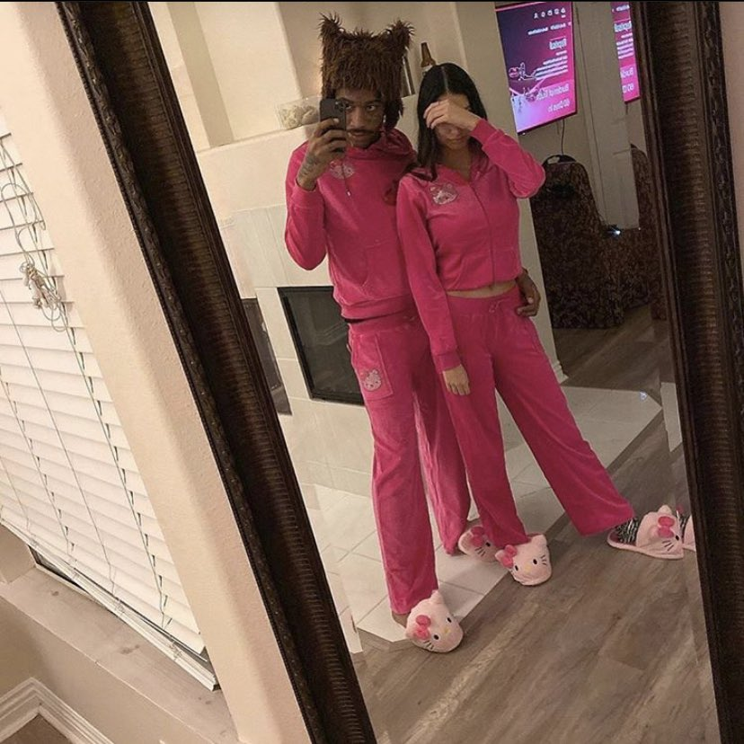 What if we... wore matching hello kitty jumpsuits?