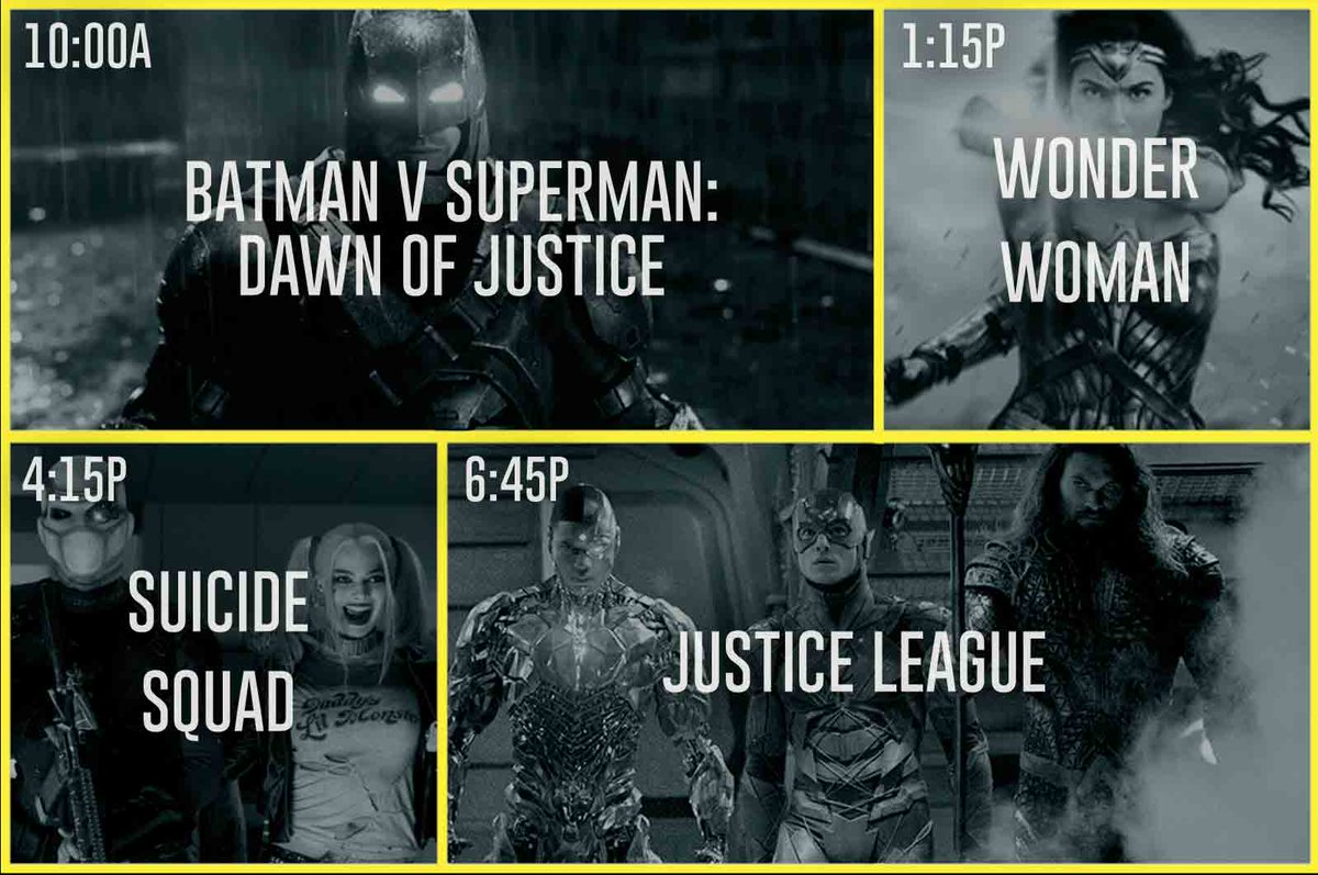 We're serving up a whole lot of justice tomorrow 💥