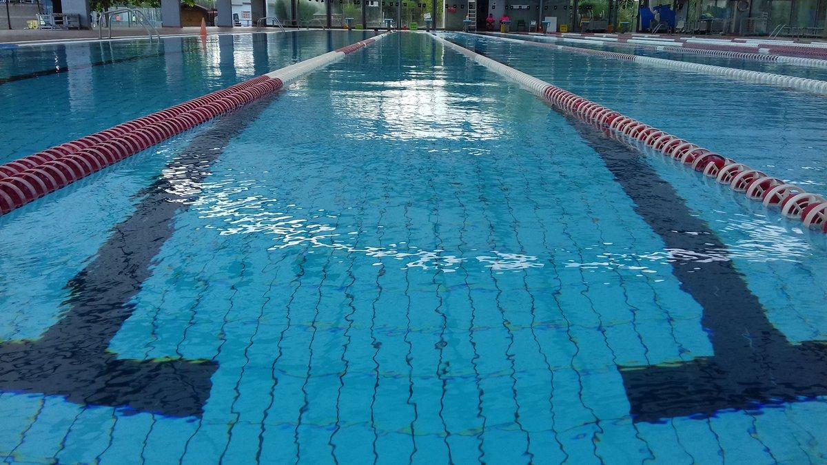 BON VESPRE,  des de la piscina de Sant Ponç del @geieg1919  #natacio #aigüesobertes #girona https://t.co/tL3LGP1JIX