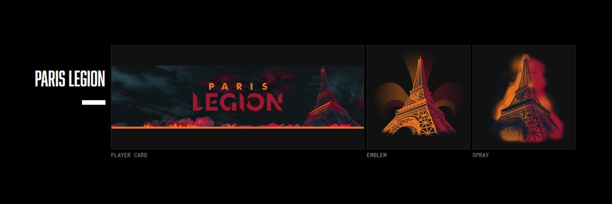Egalement disponible dès aujourdhui dans la boutique Modern Warfare / Warzone : le CDL Team Supporter Pack ! Obtiens ton Pack et représente Paris Legion : callofdutyleague.com/fr-fr/cdl-team… #EnGarde | #CDL2020 | @CODLeague twitter.com/CODLeague/stat…