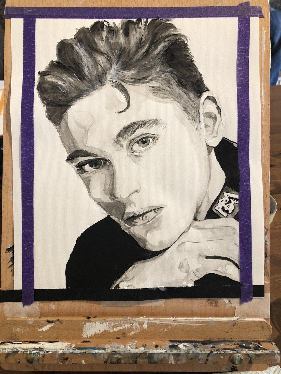 #herotiffin #herofiennestiffin #after #portrait #art #artshare #artwork #painting #portrait #acrylicpainting #blackandwhiteart pic.twitter.com/xz8mu7pxJT