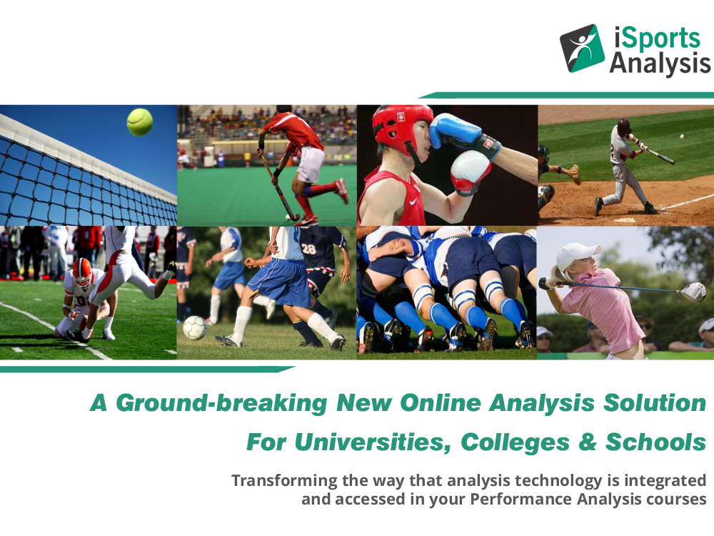 A Ground-breaking New Online Analysis Solution For Universities, Colleges & Schools. Transforming the way that analysis technology is integrated and accessed in your Performance Analysis courses.  Click to download a PDF https://t.co/kXWpFnUWbv #universities #colleges #schools https://t.co/Zt1nxfjarV
