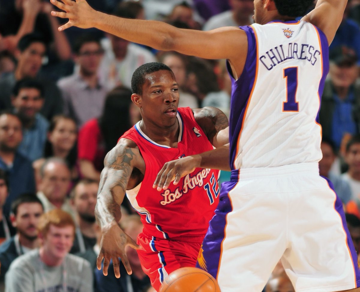 7/10/13 – Ryan McDonough and the Phoenix #Suns acquired LA Clippers backup PG Eric Bledsoe, w/Caron Butler, in a three-team deal sending Jared Dudley to LAC and a 2014 2nd (Lamar Patterson) to MIL. LAC sent MIL a 2016 2nd (Marcus Paige) and MIL traded J.J. Redick to LAC. #RisePHX https://t.co/PDdMYHsiFd
