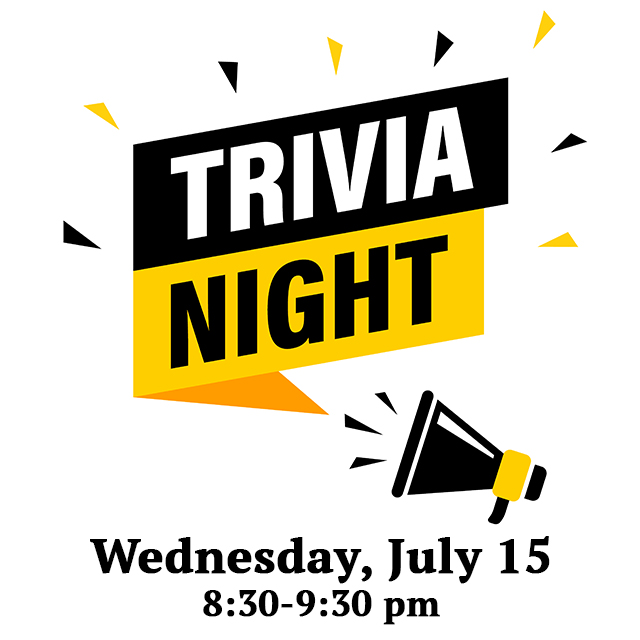 Adult Trivia Night is back next week! Join fellow members online for this fun-filled night. RSVP today at https://t.co/SwNr1MPgRh #TCSCC https://t.co/36rpXisCDx