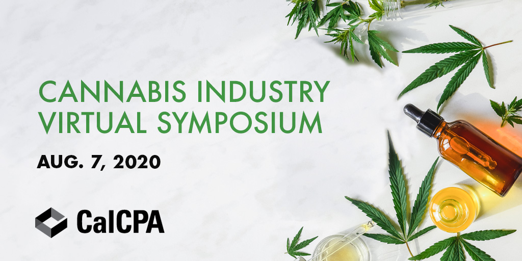 #COVID19 has wreaked havoc on the business community, including the #cannabis sector. Join us at #CalCPA420 to learn about #tax, #legal and #accounting updates impacting #cannabis industry businesses and their professional advisers. | https://t.co/2jUwsl7vua https://t.co/iOEDQuhisW