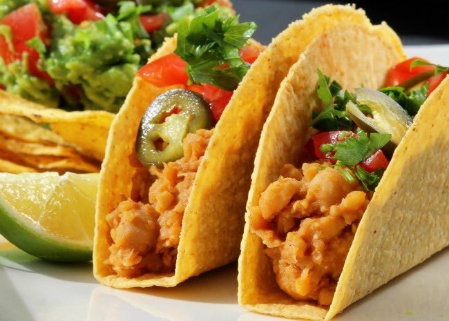 Do you love tacos as much as I do? Pack them with a meat or meat substitute, salad, sauce, seasoning. Wow what a delight! #food #taco #vegan #vegetarian #foodie #protein #carbs #exercise #health #fitness #TuesdayMotivation https://t.co/PnV5tuUOkm