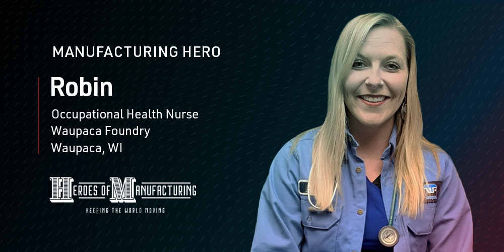 Robin Standke is a US veteran, hunter, and loving dog mom. She is an occupational health #nurse and loves giving #homemade sanitizer & face masks to her fellow colleagues during the pandemic. She is a Hitachi #ManufacturingHeroes. Way to go Robin! https://t.co/jmUJY7C1qF https://t.co/C4lxYvpDCo