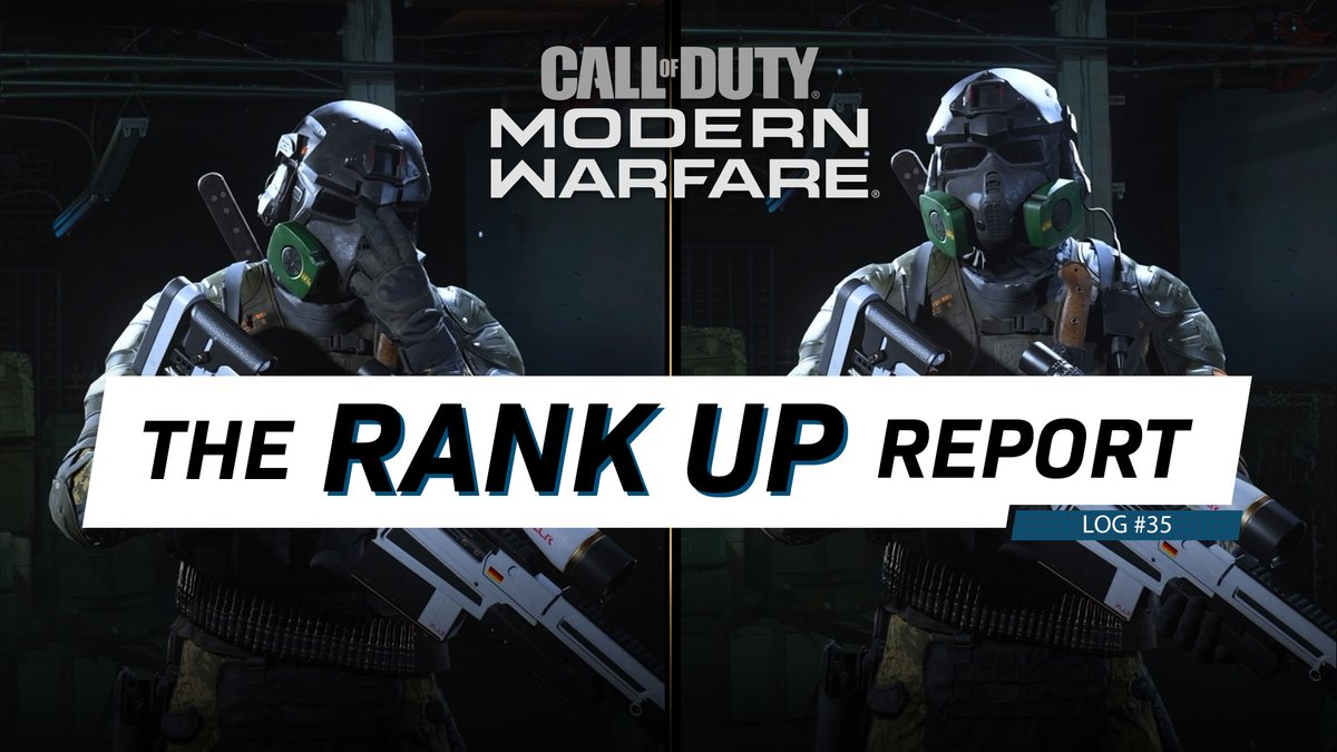 The #ModernWarfare Rank Up Report 35: ✅ Operator of the Week: Zane ✅ 10 Tips on the toughest Officer Challenges ✅ Gunsmith Custom Creation of the Week ✅ More Tips to Unlock the Rytec AMR! 📡 Report HERE: bit.ly/301Lxsi #CallofDuty #Warzone