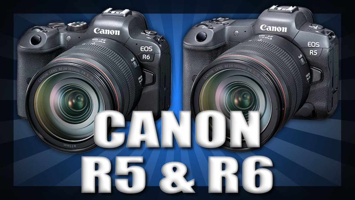 Sweet new cameras from Canon!  #CanonR5 #canonr6   https://t.co/JJmBhUFJ49 https://t.co/f9VyScfVtF