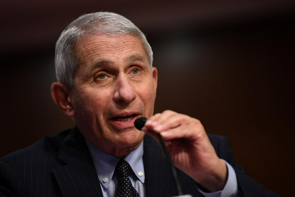 Fauci says likely some degree of aerosol transmission of new coronavirus