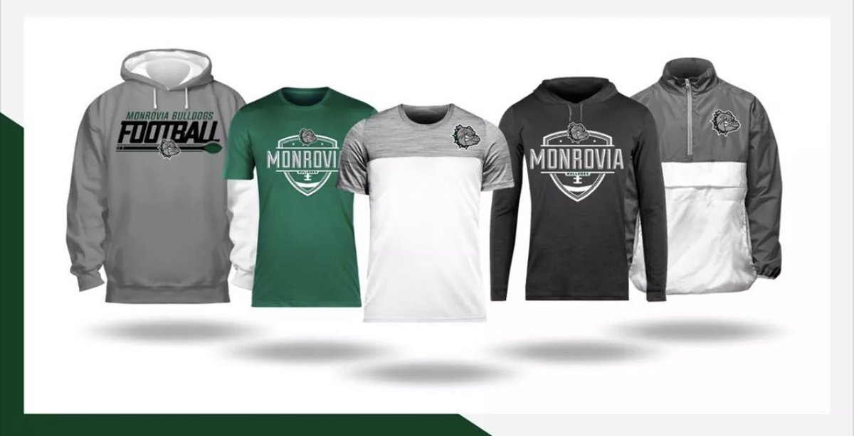The Monrovia Football Online Store is now open. Hurry, the shop closes on 7/27/20! #GoDawgs   https://t.co/b7fINT0UVT https://t.co/IKTgaczeVN