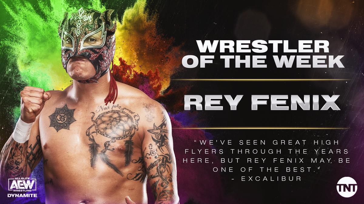 .@ReyFenixMx left us speechless, making him our Wrestler of the Week